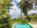 Luxury pool with an ocean view in Uvita, Costa Rica