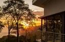 Sunset on Uvita, Costa Rica in oceanview community