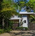 Oceanview community gate entrance in Costa Rica