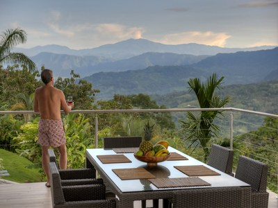 Mountain view in the middle of the Rain Forest. Costa Rica's Premier Development in the Central Pacific with Luxury Houses for sale