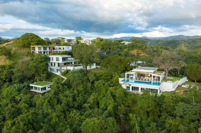 Ocean Community Aerial View- Luxury Residences for Sale Costa Rica