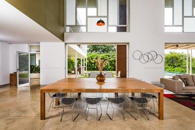 Elegant High Ceilings of Modern Ocean View Luxury Residences for Sale Costa Rica