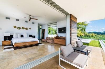 Bedroom View - Modern Ocean View Luxury Residences for Sale Costa Rica
