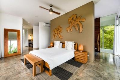 Bedroom of Modern Ocean View Luxury Residences for Sale Costa Rica