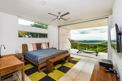 Modern Luxury Ocean Residences Bedroom view close to Nosara, Costa Rica