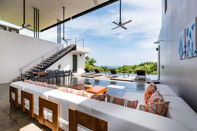 Living area-Houses for sale in Nosara Costa Rica