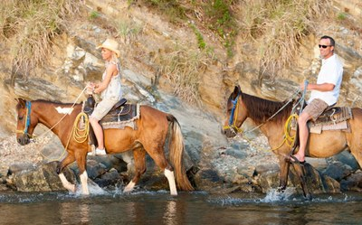 Horsebackriding Tours in Nosara - close to  our Modern Ocean View Luxury Residences for Sale Costa Rica