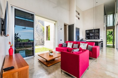 Contemporary Interior Design - Modern Ocean View Luxury Residences for Sale Costa Rica