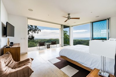 Bedroom with a Sea View - Modern Ocean View Luxury Residences for Sale Costa Rica