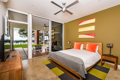 Sea View Bedroom- Modern Ocean View Luxury Residences for Sale Costa Rica