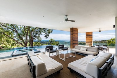Sea View Living Room - Modern Ocean View Luxury Residences for Sale Costa Rica
