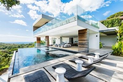 Salt Water Pools - Modern Ocean View Luxury Residences for Sale Costa Rica