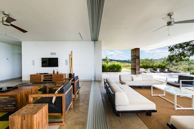 Living Area - Modern Ocean View Luxury Residences for Sale Costa Rica