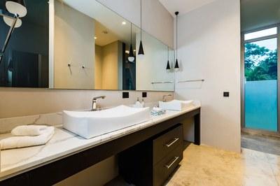 Vanity Room in this Modern Ocean View Luxury Residences for Sale Costa Rica