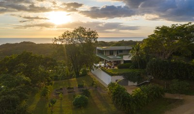 Modern Eco Houses in Modern Ocean View Luxury Community with Estates for Sale Costa Rica