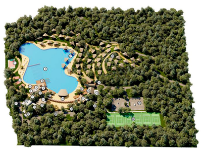 Community Pool COMUNIDAD DE PLAYA -  Costa Rica's Premier Beach Development in the Central Pacific with Luxury Homes, Condos, and Lots for sale