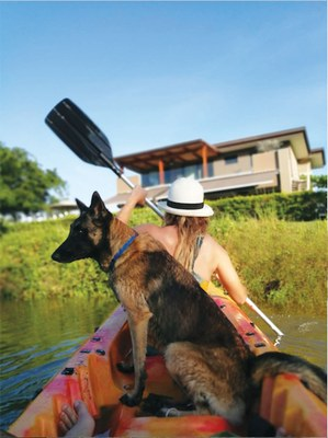 Get your own private lake in this community where you can Kayak-Houses For Sale Near the Beach in Costa Rica