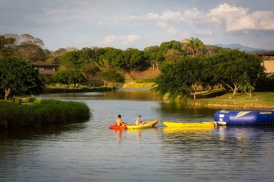 Practice water sports in your own private lake! Houses for sale near the beach in Costa Rica