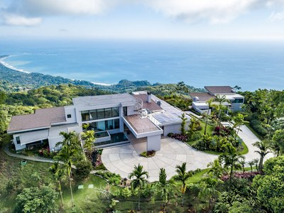 Aerial for Hilltop Oceanview-House for Sale in Puntarenas, Costa Rica