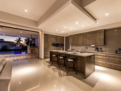 Dinette-Center Piece, Kitchen at Hilltop House for Sale in Puntarenas, Costa Rica