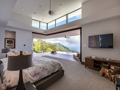 Dreamy Oceanview from Bedroom in Luxurious House for Sale in Puntarenas, Costa Rica