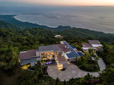 Aerial Oceanview Hilltop House for Sale in Puntarenas, Costa Rica