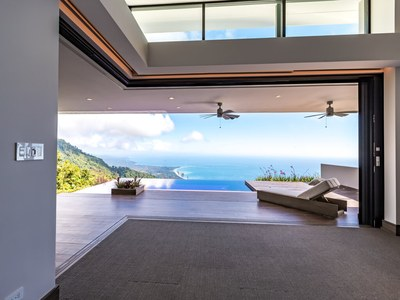 Lounge to Infinity from Oceanview, Hilltop House for Sale in Puntarenas, Costa Rica