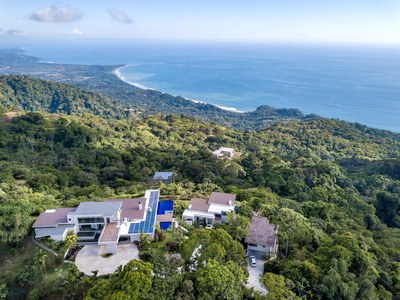 Magnificent, Hilltop, Oceanview House for Sale in Puntarenas, Costa Rica
