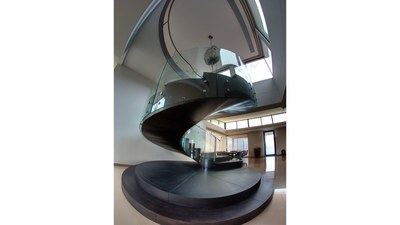 Modern Stairways in Oceanview House for Sale in Puntarenas, Costa Rica