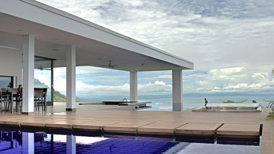 Pool Area to Ocean View Luxury In An Ocean-View Paradise for sale in Puntarenas