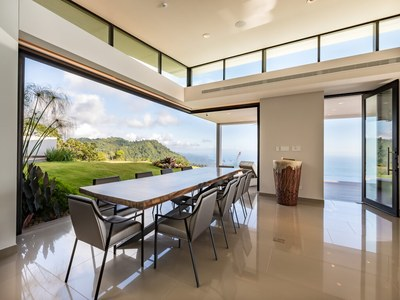 Power meetings to Oceanview from Mountaintop House for Sale in Puntarenas, Costa Rica