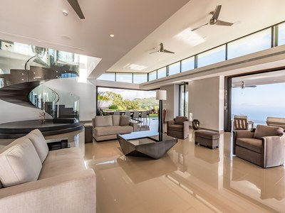 Relax Endulge from Your Living Room; Hilltop Oceanview House for Sale in Puntarenas, Costa Rica