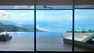 Relaxing Hilltop Ocenview House for Sale in Puntarenas, Costa Rica