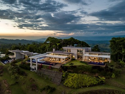 Terraces & Soothing Evenings at Hilltop House for Sale in Puntarenas, Costa Rica