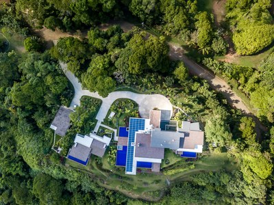 Top View of Hilltop House for Sale in Puntarenas, Costa Rica