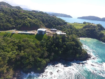 South Arial View of Oceanfront and Ocean View Luxury Condos for Sale on the Central Pacific of Costa Rica