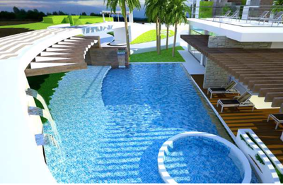 Amenities of     Oceanfront and Ocean View Drone view of Luxury Condos for Sale on the Central Pacific of Costa Rica