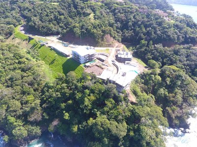 Arial View of Condominiums for Sale on the Central Pacific of Costa Rica