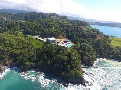 Cliff Side View Oceanfront and Ocean View Luxury Condos for Sale on the Central Pacific of Costa Rica