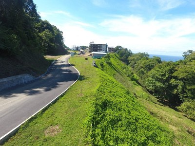 Access Road to Oceanfront and Ocean View Luxury Condos for Sale on the Central Pacific of Costa Rica