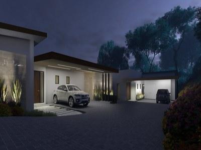 House garage in Costa Rica's Premier Beach Development with Luxury Condominium for sale