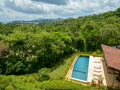 Pool with an oceanview in Costa Rica's Premier Beach Development with Luxury Condominium for sale