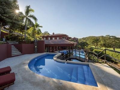 Pool view in Costa Rica's Premier Beach Development with Luxury Condominium for sale