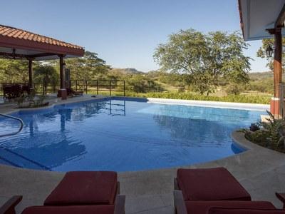 Terrace pool in Costa Rica's Premier Beach Development with Luxury Condominium for sale