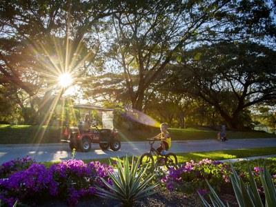 Green areas at Costa Rica's Premier Beach Development with Luxury Condominium for sale