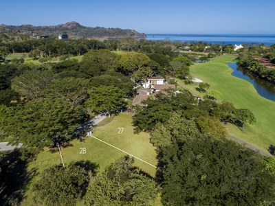 Lots with an oceanview in Costa Rica's Premier Beach Development with Luxury Condominium for sale