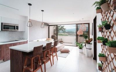 Modern Kitchen - Condos for sale in San José, Costa Rica