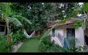 Casa Cedro Frornt Porch Outside Garden Area