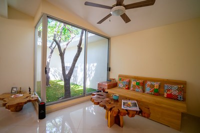 Casa Karambola Living Room of Riviera Residences Costa Rica Profitable Rental Beach Community for Sale.jpg