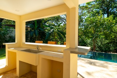 Rivierna Residences Costa Rica Profitable Rental Beach Community for Sale Pool Bar